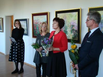 Wystawa malarskich prac Renaty Wojnarowicz