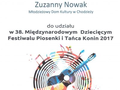 Sukces Zuzanny Nowak!