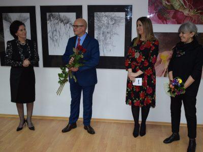 Wernisaż wystawy prac Doroty Boruckiej i Izabeli Kostrzewy