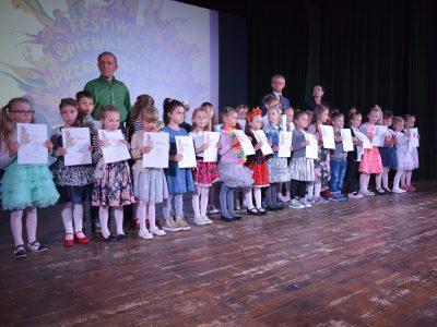 Finał XXI Festiwalu Śpiewających Przedszkolaków w Chodzieży.