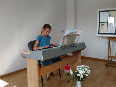 Koncercik – Wieczór przy klawiaturze.