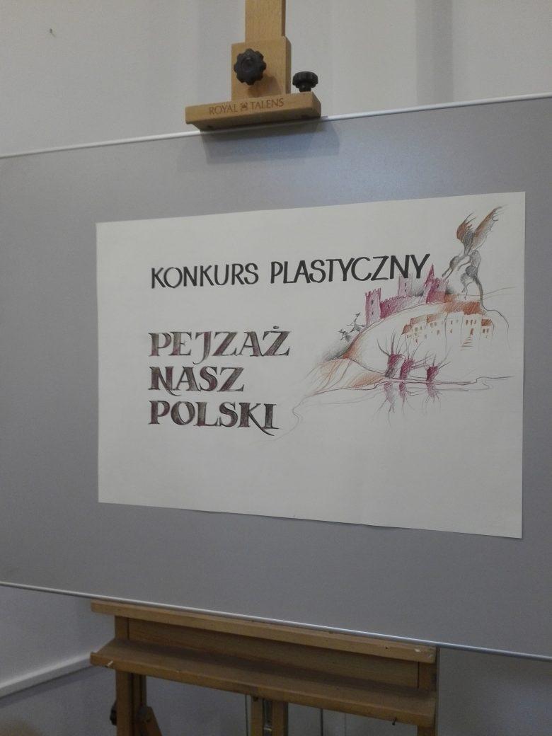 """Podsumowanie ogólnopolskiego konkursu plastycznego """"Pejzaż nasz polski"""""""