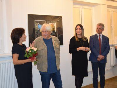 Wystawa prac Sławomira Łuczyńskiego.