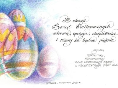 Pięknych Świąt Wielkanocnych!